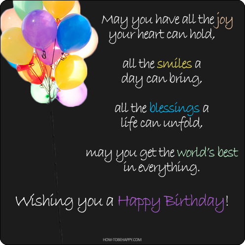 Happy Birthday Inspirational Quotes   21 Birthday Wishes