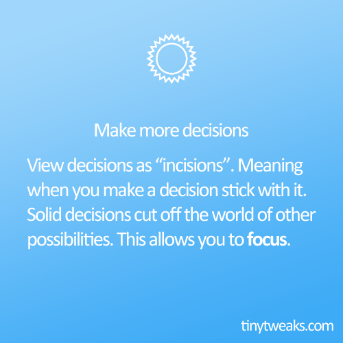 make-more-decisions