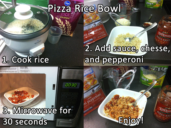 Pizza-Rice-Bowl-Instructions