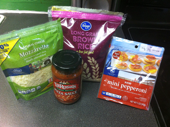 Pizza-Rice-Ingredients